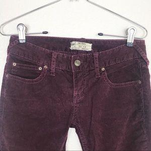 Free People Pants - Free People | Corduroy Skinny Pant Size 25
